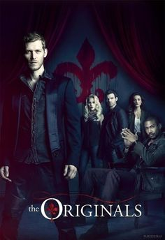 Season 1 - The Originals ; Family Mikaelson :: Klaus (Joseph Morgan), Elijah (Daniel Gillies), Rebekah (Claire Holt), and Hayley (Phoebe Tonkin). +++ also shown, seated: Marcel (Charles Michael Davis)