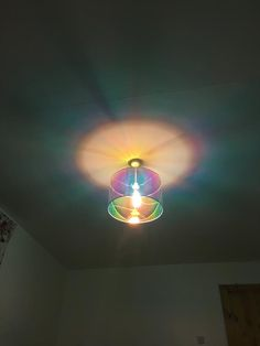 Emits light all round the room rather than restricting it like some shades. Interior Exterior, Interior Modern, Interior Design, Rainbow Kitchen, Creative Kids Rooms, Rainbow House, My New Room, Home Decor Furniture, Light Art