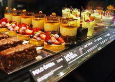 Desserts at Bubo Patisserie in Barcelona, Spain by Melody Fury