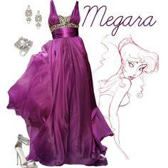 """Megara"" formal gown by alyssa-eatinger on Polyvore - Hercules"