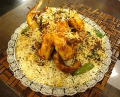 How to Make Chicken Tandoori Biryani by Chef Gulzar Hussain