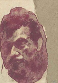 R.B. Kitaj, Head of Francis Bacon