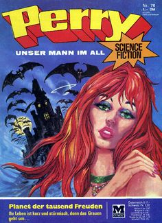 Comic Perry - Unser Mann im All Heft Nr.70