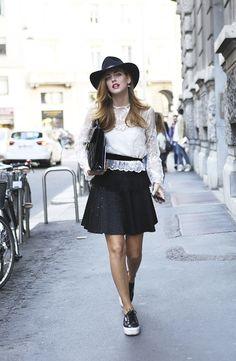 Chiara Ferragni - Milan Fashionweek - September 2013