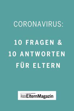 Durch den rasanten Anstieg der Corona-Infizierten steigt die Verunsicherung in den Schweizer Haushalten. Was beschäftigt Eltern, deren Kinder jetzt zuhause sind? Die 10 drängensten Fragen und Antworten rund um das Coronavirus lesen Sie hier. #fritzundfraenzi #stayathome #coronavirus #prävention #fragen #antworten #tipps #ansteckung Der Computer, Corona, Reading, Psychic Development, Kidney Disease, Happy Kids