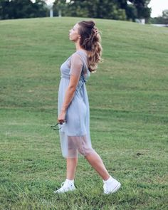"""118 Likes, 13 Comments - CHRISSY + CHLOE (@broadsonabudget) on Instagram: """"When you're a girly girl so you wear a dress but also a tomboy so you throw in the chucks as well 👟"""""""