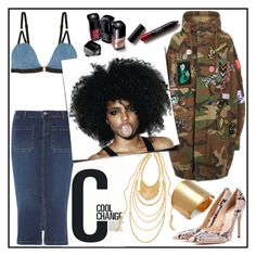 """""""COOL CHANGE!!!"""" by kskafida ❤ liked on Polyvore featuring Marc Jacobs, Cool Change, Dorothy Perkins, Gianvito Rossi, Chico's, Nöe and Kenneth Jay Lane"""