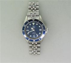 Tag Heuer 1000 Series Stainless Steel Mens Watch.  Available @ hamptonauction.com at the Fine Vintage and Modern Watch Auction on September 29th, 2014! Come preview our catalog!