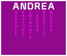 Andrea, El significado de tu nombre es... - Resutado ¿Qué significado tiene tu nombre? - Descúbrelo