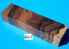 Rare ziricote nordie puukko knife blank handle grip exotic lumber
