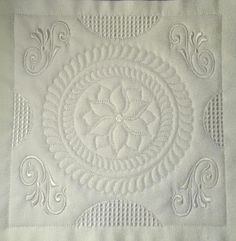 Doodle White Work 8 x 8 – Embroideries For All