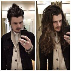 guys with long hair