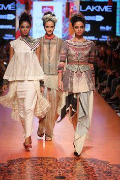 Tarun TahilianiLakme Fashion Week Summer/Resort 2015 #layering