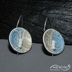 earrings by way of clay, via Flickr