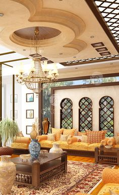 Moroccan style interior design for a luxury house Luxury Homes Interior, Interior Design Living Room, Interior Decorating, Moroccan Design, Moroccan Decor, Moroccan Style, Moroccan Bedroom, Moroccan Lanterns, Arabian Decor