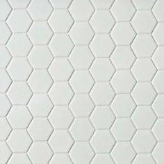 Octagon White Mosaic Tile