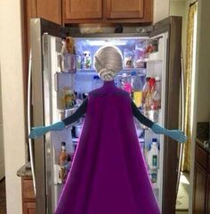 Love is an open door. The cold never bothered me anyway.