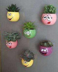 25 Proper Plant Ideas to Beautify Your Backyard Diy Hanging Planter, Diy Planters, Hanging Plants, Planter Ideas, House Plants Decor, Plant Decor, Pinterest Wall Decor, Hanging Orchid, Pots D'argile