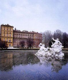Fountain, Palazzo Reale, Turin, Piedmont, Italy