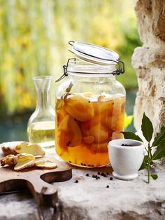 Ginger spiced pears