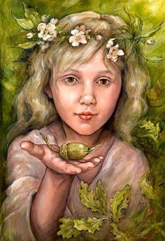 Stonemaiden Art by Julia Jeffrey Etsy listing at https://www.etsy.com/listing/215614382/always-at-the-beginning-a4-print