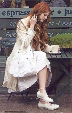 Katerina Martinovska Natural Redhead, Beautiful Redhead, Gorgeous Hair, Auburn, Pretty Hairstyles, Braided Hairstyles, Long Red Hair, Ginger Girls, Dream Hair