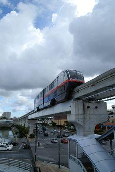 Yui Monorail, Naha, Okinawa, Japan ゆいレール
