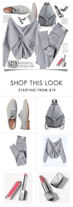 """""""Grey chic"""" by puljarevic ❤ liked on Polyvore featuring Gap, Rebecca Minkoff, Cheap Monday and Burberry"""