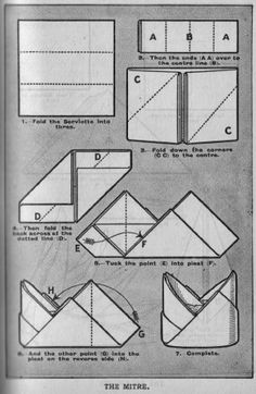 Happy Holidays: Happy Holidays School of Napkin Folding – Day 8