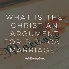 Marriage; It's Not What You May Think... I personally do not know much about Joshua Agan so I do not necessarily share his beliefs, but this article is spot on and makes Biblical sense.. I can say that I wholeheartedly agree<3