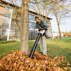 Looking for the best Leaf Vacuum Mulcher? This new year, you can choose to continue with the outdated methods, or shift to a leaf vacuum mulcher. A close cousin of the leaf blower and vacuum cleaner Blown Away, Leaf Blower, Amazing Gardens, Outdoor Power Equipment, Lawn, Leaves, Good Things, Canning, Top Rated