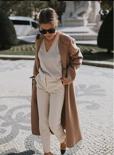 Outfit | brown | bei