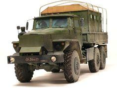 """I am modelist » Armoured truck """"Zvezda-V"""" (on Ural-4320)"""