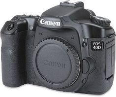 Canon EOS 40D 10.1MP Digital SLR Camera (Body Only) > Price: $1,329.99 > Click on the image for details and offers.