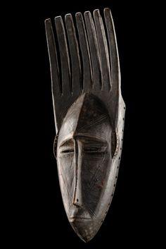 "Mask ""ntomo"" Bamana, Mali"
