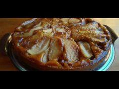 Prăjitură Întoarsă cu Mere - YouTube No Cook Desserts, Apple Pie, Caramel, French Toast, Cooking, Breakfast, Easy, Youtube, Cakes