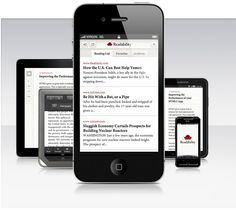 Now, Readability App is available on Android that turns web pages into a clean, elegant, single-column reading view stripping out the formatting. This also lets you store and share an article. The app is already available for Kindle e-readers and recently launched for Apple iPhone and iPad.