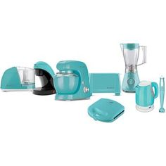 Kit Cadence Colors Azul com Batedeira Orbital + Cafeteira + Chaleira…