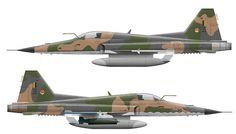 F-5E Tiger Brazilian Air Force