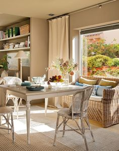 13 Inspirational Designs in House from Spain Sweet Home, English Decor, Dining Nook, Elle Decor, Home Fashion, Home And Living, Modern Decor, Ideal Home, Outdoor Furniture Sets
