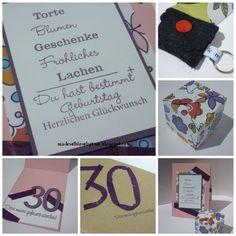 made with love by kme: Zum 30. Geburtstag