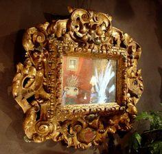 Grand Miroir 17e siècle Espagnol