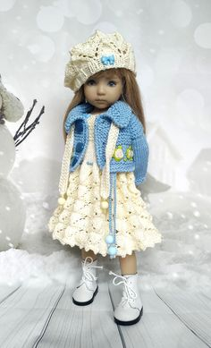 Doll is not Included Myelf Story Lovely Elf Accessories Clothes Chocolate Cookie Couture for Boy or Girl Elf Doll