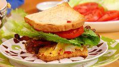 BLT & Deviled Egg Salad Sandwiches