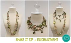 Shake It Up + Enchantment necklaces - Premier Designs Jewelry