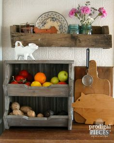 DIY Kitchen Storage Bin with Free Plans by Prodigal Pieces…