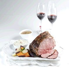 Roast beef's so simple (and impressive) for entertaining – just season (simply), sear and slow-roast for best results. Use a MEAT THERMOMETER to cook your roast to the doneness that you like the best – without overcooking it! A good thermometer is one of your best kitchen investments (way cheaper than granite counters)! Beef Strip Loin is ever-tender and has amazing flavour. And because of its flatter shape, a Strip Loin roast will cook quite quickly for its weight.