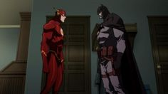 Flashpoint Paradox Flash Batman