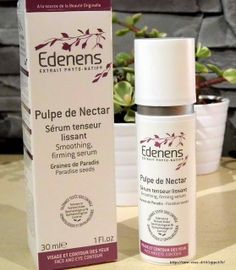 Sérum tenseur lissant Pulpe de Nectar EDENENS http://www.ayanature.com/fr/soins-bio-anti-age-visage/252-serum-tenseur-lissant-pulpe-de-nectar-edenens.html
