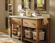 Pottery Barn Bathrooms Ideas easy and inexpensive ways to decorate your lake,beach or mountain